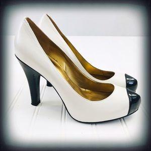 Guess Warabella Color Block Heels 7.5M